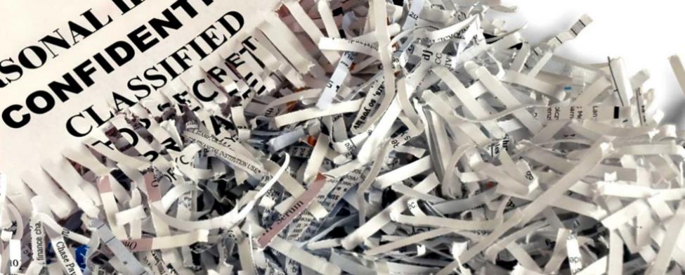 Destrucción de documentos confidenciales y archivo muerto ... - photo#3